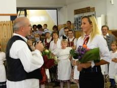 Csabai Dóra Olimpikon köszöntése
