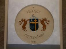 Pre Mlyncanov kitüntetés - Pilisszentkereszt címer