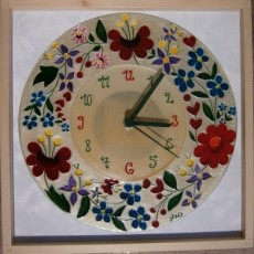 Kalocsai mintás óra